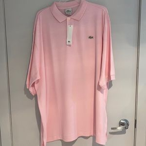LACOSTE polo shirt Pink 2 XL and 3 XL